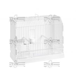 Kavez mali plastificiran beli 36 x 17 x 30 cm