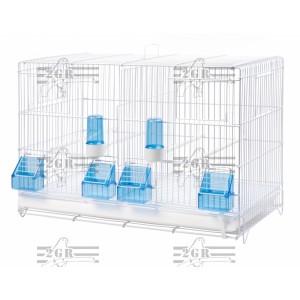 Kavez veliki zicani plastificiran 58 x 30 x 39 cm