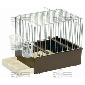 Kavez mali braon 24 x 16 x 20cm